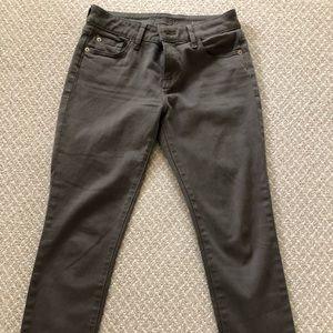 DL1961 olive jeans